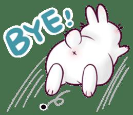 Bosstwo - Cute Rabbit POOZ! sticker #6953988
