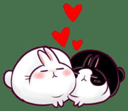 Bosstwo - Cute Rabbit POOZ! sticker #6953992