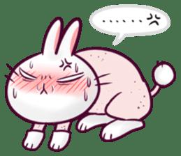 Bosstwo - Cute Rabbit POOZ! sticker #6953994