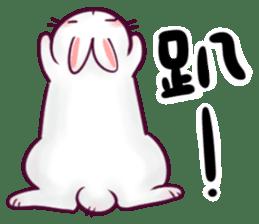 Bosstwo - Cute Rabbit POOZ! sticker #6953995