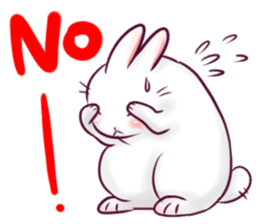 Bosstwo - Cute Rabbit POOZ! sticker #6953996