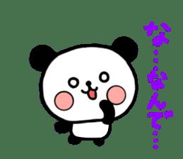 mi-ki panda 2 sticker #6955001