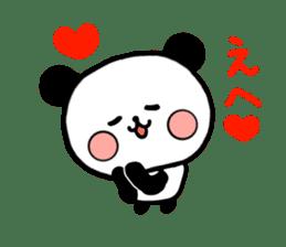 mi-ki panda 2 sticker #6955003