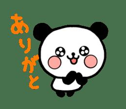 mi-ki panda 2 sticker #6955004