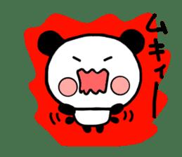 mi-ki panda 2 sticker #6955006