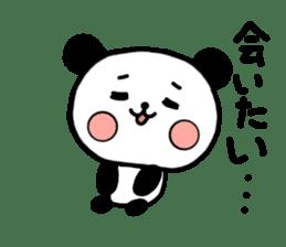 mi-ki panda 2 sticker #6955018