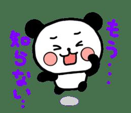 mi-ki panda 2 sticker #6955022