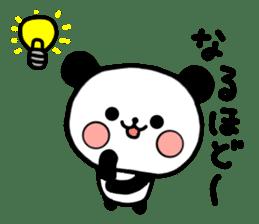 mi-ki panda 2 sticker #6955026