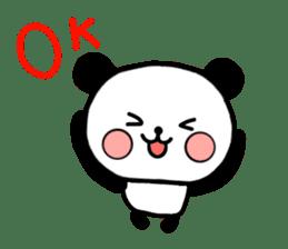 mi-ki panda 2 sticker #6955031