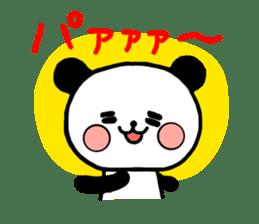 mi-ki panda 2 sticker #6955033