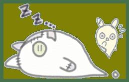 fluffy patch  cat sticker #6961963