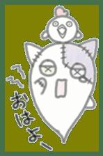 fluffy patch  cat sticker #6961964