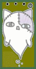 fluffy patch  cat sticker #6961965