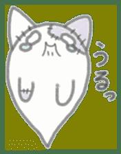 fluffy patch  cat sticker #6961966