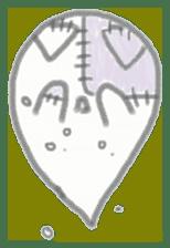 fluffy patch  cat sticker #6961967