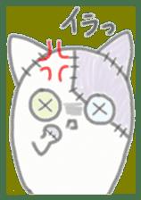 fluffy patch  cat sticker #6961969