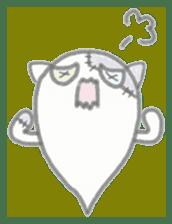 fluffy patch  cat sticker #6961970