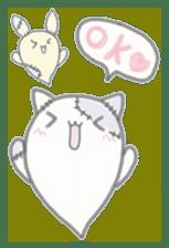 fluffy patch  cat sticker #6961972