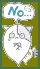 fluffy patch  cat sticker #6961973