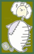 fluffy patch  cat sticker #6961974