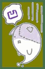 fluffy patch  cat sticker #6961975