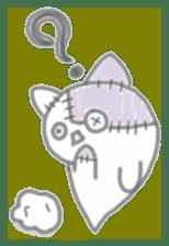 fluffy patch  cat sticker #6961976