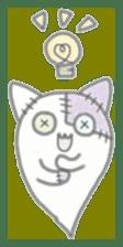 fluffy patch  cat sticker #6961977
