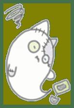 fluffy patch  cat sticker #6961978