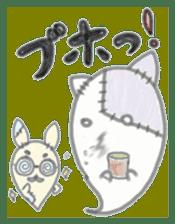 fluffy patch  cat sticker #6961987