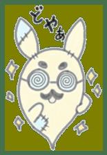 fluffy patch  cat sticker #6961988