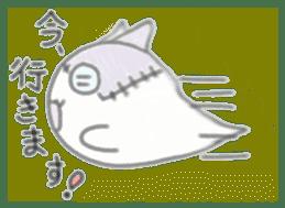 fluffy patch  cat sticker #6961989