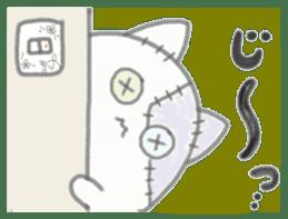 fluffy patch  cat sticker #6961993