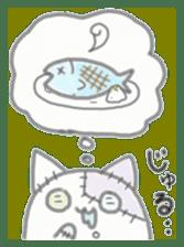 fluffy patch  cat sticker #6961994