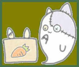 fluffy patch  cat sticker #6961997
