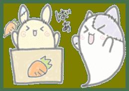 fluffy patch  cat sticker #6961998