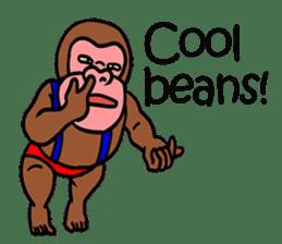 Cool Monkeys sticker #6962322