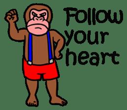 Cool Monkeys sticker #6962324