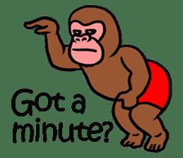 Cool Monkeys sticker #6962333