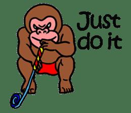 Cool Monkeys sticker #6962335