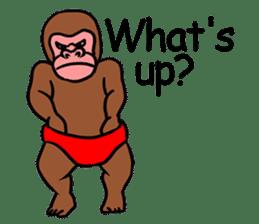 Cool Monkeys sticker #6962337