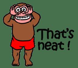 Cool Monkeys sticker #6962338