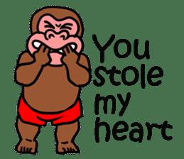 Cool Monkeys sticker #6962341