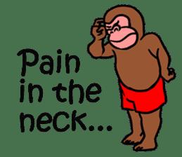 Cool Monkeys sticker #6962345