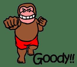 Cool Monkeys sticker #6962348