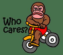 Cool Monkeys sticker #6962353