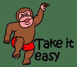 Cool Monkeys sticker #6962357