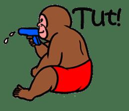 Cool Monkeys sticker #6962358
