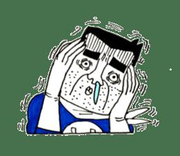 Super Annoying Man sticker #6963195