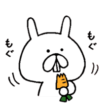 Chococo's Yuru Usagi 4(Relax Rabbit) sticker #6963244