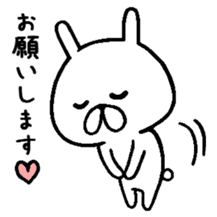 Chococo's Yuru Usagi 4(Relax Rabbit) sticker #6963245